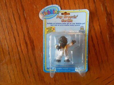 "Webkinz Figure Pop Groovin Gorilla Ganz 2"" New"