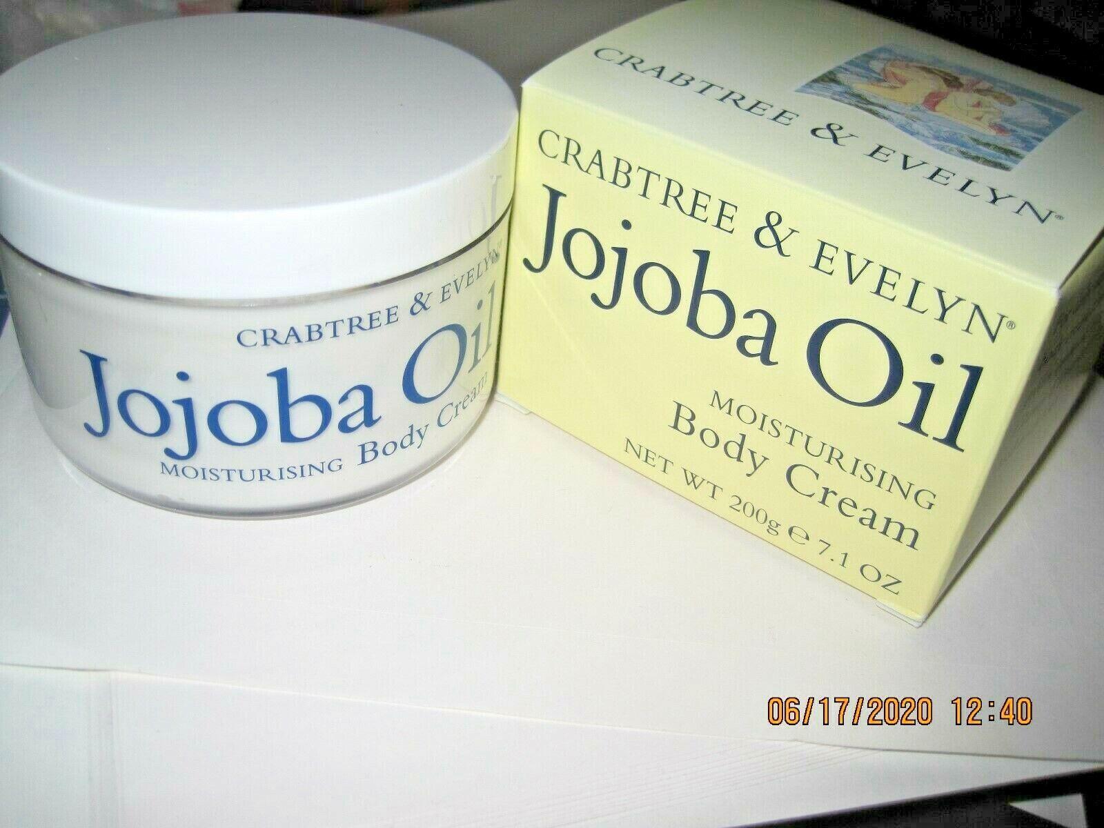 Crabtree & Evelyn Moisturising Body Cream, Jojoba Oil, 7 fl.