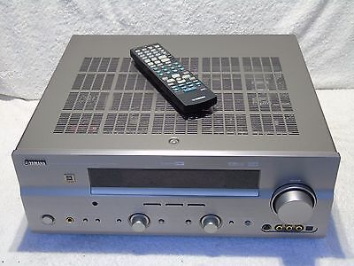 Yamaha DSP-AX759SE Dolby 7.1 Home Cinema Theatre Amplifier + Original Remote