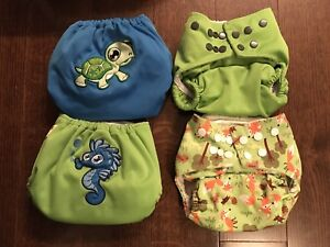 Previously loved cloth diapers!