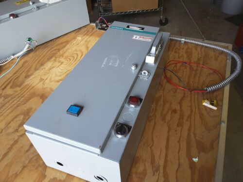 Siemens SXL DO Combination Motor Control Starters Class SCN Type D15 NEMA 2 $179