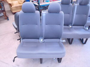 Hiace LWB Van 2 person rear  Commuter seat with Legal RTA Approval