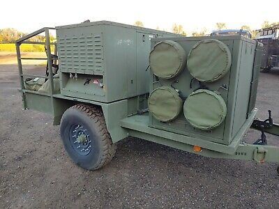 Military Drash Shelter Generator Hvac Trailer Ecu Heat Ac Air Conditioning Tent