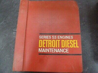 Detroit Diesel 253 353 453 6v53 8v53 Engine Service Repair Maintenance Manual