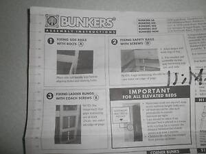 BUNK BEDS FROM BUNKERS Panton Hill Nillumbik Area Preview