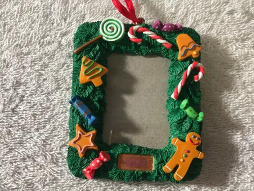 "Christmas ornament resin photo ornament 1 3/4""x2 1/2""  CH4076"