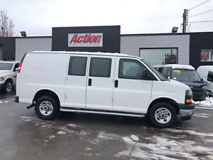 2017 GMC Savana 2500 loaded. chrome bumpers and grill