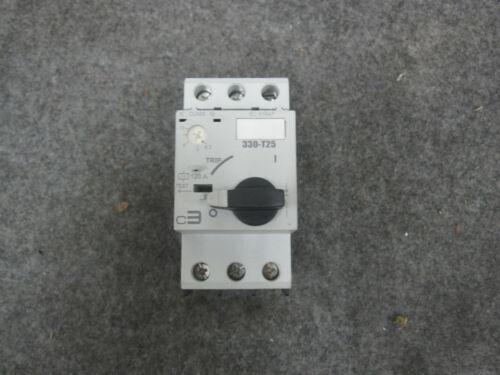 C3 CONTROLS 330-T25S2U10 Motor Protector Circuit Breaker new