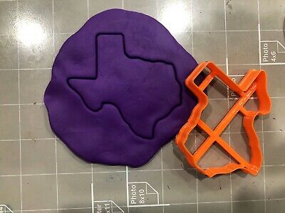 Texas State Map Cookie Cutter Texas Cookie Cutter