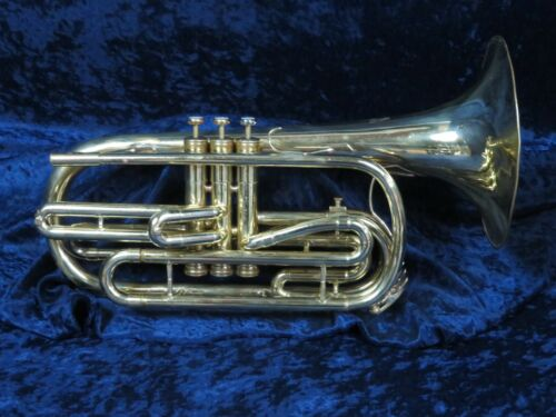 King Flugabone/Marching Trombone Ser#766891 Strong Player with a Solid Sound!
