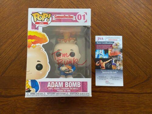 "Funko Pop GPK Garbage Pail Kids ""Adam Bomb""- Tom Bunk- #01 Signed- JSA- COA"
