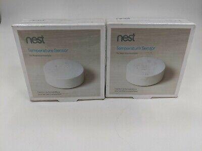 Lot of 2 New Nest Temperature Sensors T5000SF -LH0235