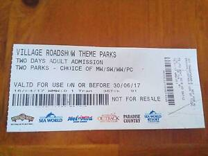 Selling an adult admission theme park ticket for only $30 Redbank Plains Ipswich City Preview