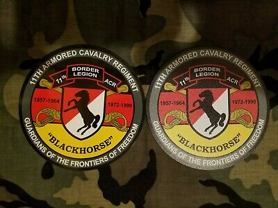 """11th ACR Border Legion 5"""" magnet - indoor use ( non coated)"""