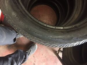 Summer Tires 195/55R16 .  Still 65-70% tread left