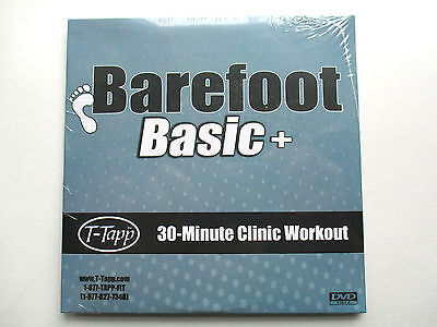 New T-Tapp Barefoot Basic+ Clinic Workout & Hoe Down Showdown Workout DVD 75 min