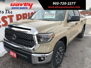 2018 Toyota Tundra SR5 Plus 5.7L V8 TRD OFF ROAD PACKAGE, NAV...