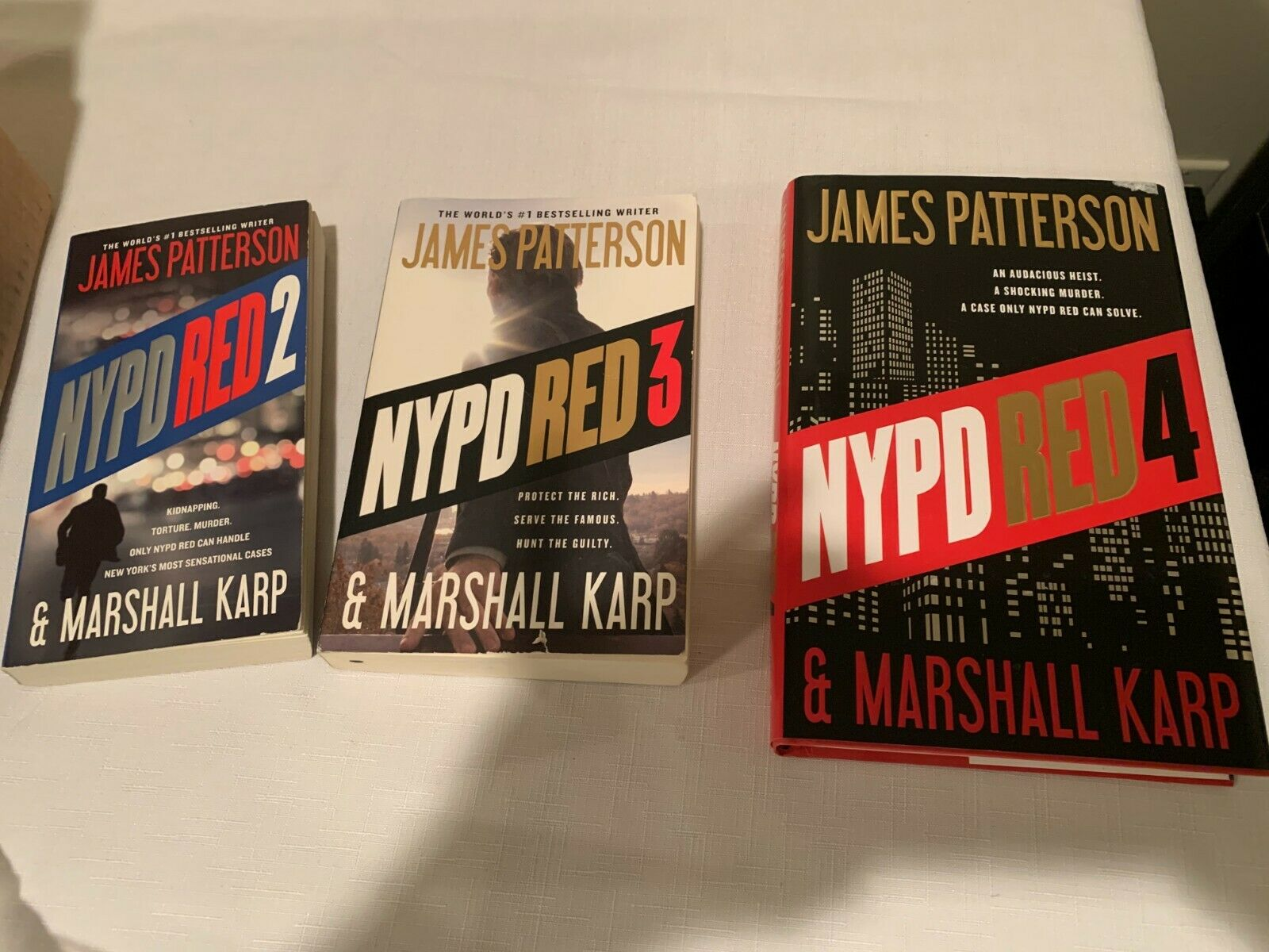 NYPD Red Book LOT By Marshall Karp And James Patterson 1 Hardcover  - $7.99