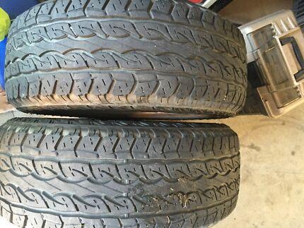 265/65 17 4x4 tyre x 2  Fletcher Newcastle Area Preview