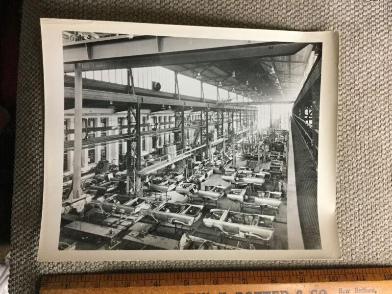 """Original Vintage 8""""x10"""" Amphicar Factory Photo NOT A REPRINT"""