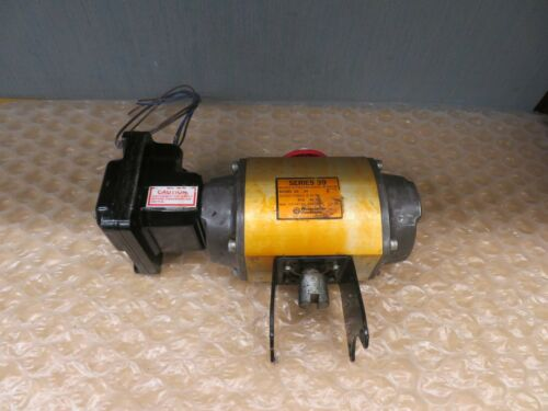 Worchester Controls Flowserve Model 20 39 R Double Acting Actuator 120PSI(17958)