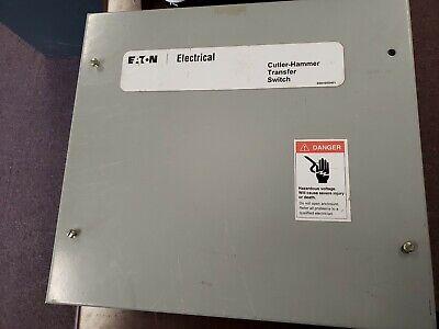 Eaton Cutler Hammer Rthmfda20070wsu Transfer Switch