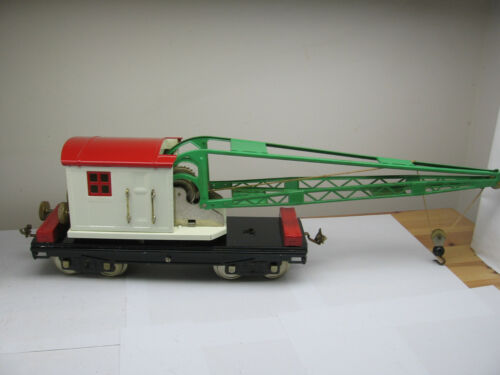 MTH Standard Gauge Early Production Crane No. 219 Boxed