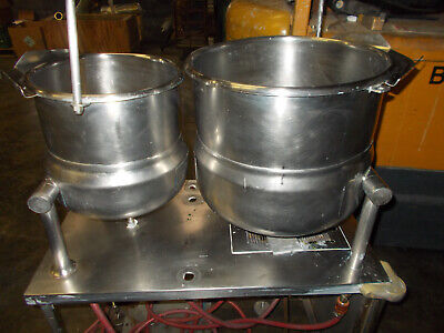Crown Dual Tilting Steam Kettles Dc5 And Dc10