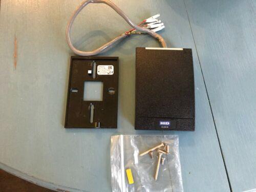 HID 920NTNNEKE00000 iCLASS SE R40 Wall Switch Reader - Black