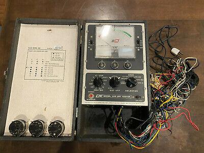 Vintage Bk Model 445 Cathode Rejuvenator Tester Crt Picture Tube Tester