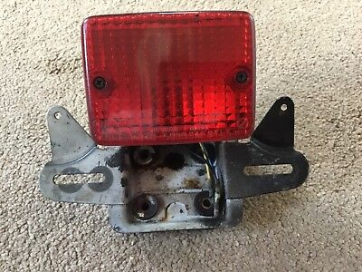 <em>YAMAHA</em> SR500 SR 500 REAR TAIL LIGHT  BRACKET XS650