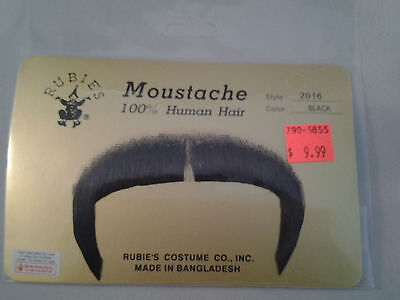 Black Zapata Moustache 70's 80's Character Mustache 100% Human Hair  Style2016 - 70s Mens Hairstyles
