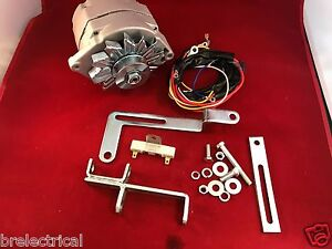 1950 - 1952 Ford 8N Alternator Generator Conversion Kit 6 to 12 Volt Battery