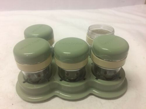 Baby Bullet Storage Cups with Lids And Tray BB-101s