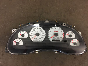 03-04 MUSTANG COBRA CANADIAN INSTRUMENT CLUSTER