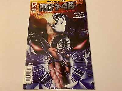 KISS 4K Comic Legends Never Die Issue 6 Rare - Apr 2008  - $4.99
