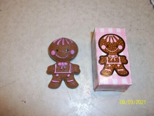 Vintage Avon gingerbread pin pal 1970s fragrance pin w/box collectible