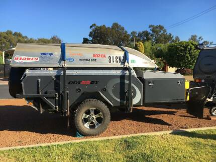 Camper Trailer Hard Floor Off-Road - AOR 2014 Signature Odyssey South Yunderup Mandurah Area Preview