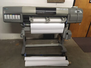 HP DesignJet 5000PS Large Format Inkjet Printer