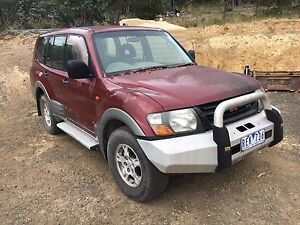Mitsubishi pajero 2001 model Heathcote Junction Mitchell Area Preview