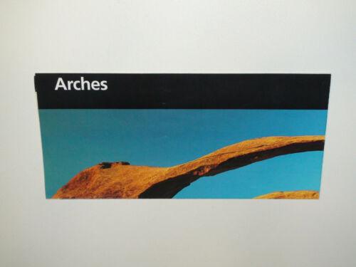 2004 Arches National Park Utah Brochure / Pamphlet - VG