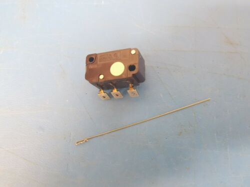 Cherry E51-50B Switch with Actuator Arm, Clockwise to actuate, NEW, Sensitive