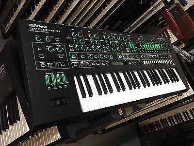 Roland System-1 Synthesizer DUST COVER WATER REPELLENT EMBROIDERY !