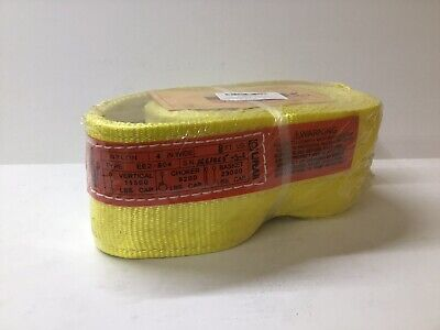 Liftall Webmaster 4 Wide X 8 Long 11500 Pound Vertical Lifting Sling Strap