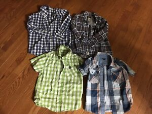 Boys Size 5 Shirts