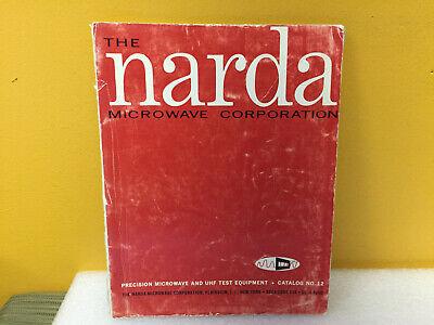 Narda Catalog No. 12 Microwave Uhf Test Equipment