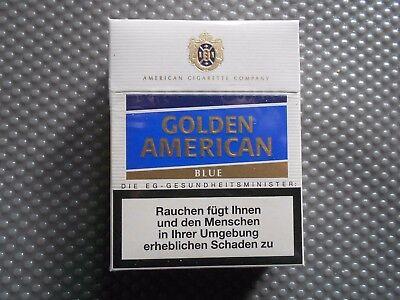 Golden American Blue alte Zigarettenschachtel (412)  segunda mano  Embacar hacia Spain
