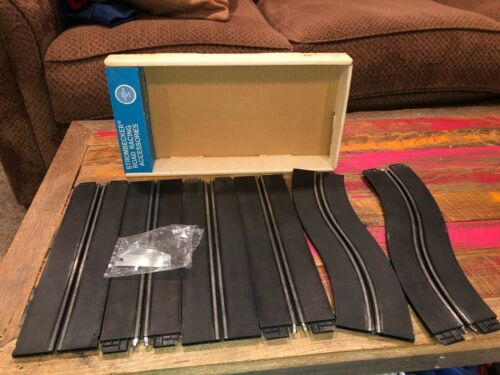 VINTAGE STROMBECKER SLOT CAR TRACK 1/32 SCALE OVER-UNDER SET 9220