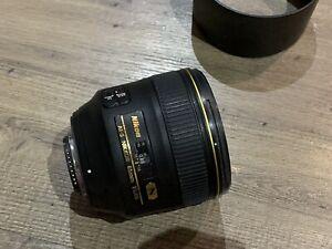 Nikon Mount Lenses 85 1.4 and PC-E 24