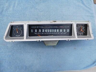 1966 Chevrolet Caprice Impala insturment clock gauges speedometer